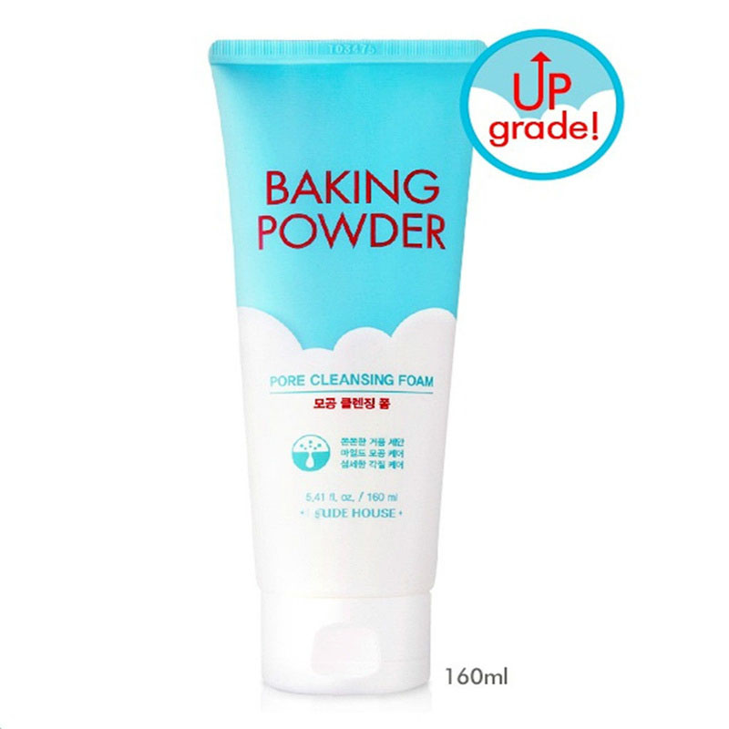 ZANABILI Original Korea Baking Powder Pore Cleansing Foam 160ml Facial Cleanser Shrink Pore Skin Care Deep Clean Scrub New очищающая пенка скраб tony moly pro clean smoky scrub deep cleansing foam