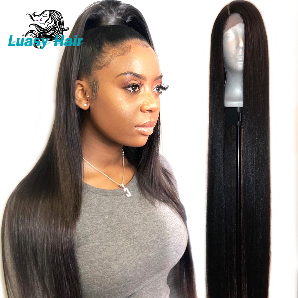 ILARIA Lace Frontal Human Hair Wigs For Black Women 32 34 36 38 40 inches Brazilian