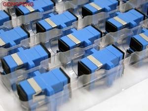 Image 3 - GONGFENG 500 قطع جديد حار انقسام الاتصالات الصف موصل SC/APC الألياف البصرية محول المقرنة شفة خاص الجملة إلى روسيا