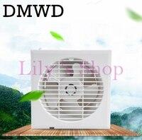 6 Inch MINI Wall Window Air Exhaust Fan Kitchen Toilets Ventilating Fans Slim Type Windows Ventilation