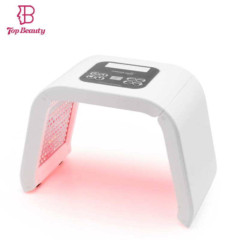 PDT LED Light Therapy Instrument Skin Rejuvenation Wrinkle Removal Acne Scars Treatment Facial Face Skin Care Beauty Device