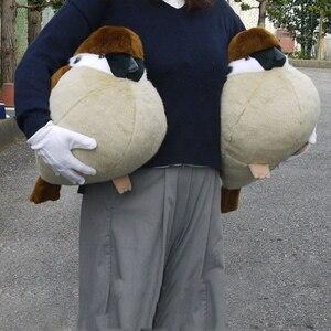 Image 1 - Gorrión y pájaro real de 38/32/45cm, peluches, almohada de muñeco de gorrión de peluche, juguetes para niños, regalo de cumpleaños para niños y niñas