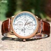 New 2014 Mens Watches Top Brand Luxury Leather Strap Watches Business Casual Men Quartz Watch Men