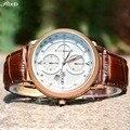 Novos Homens De Quartzo Relógios Fashion & Casual Relógio De Couro De Luxo Elegante relógio de Pulso de Esportes Porta Para Fora Atacado relojio Hot Sale!