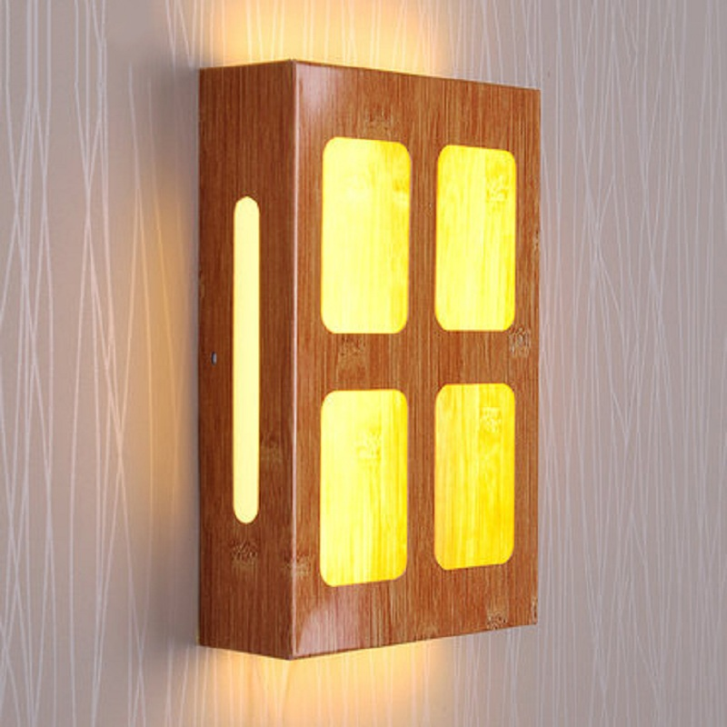 Indoor 4W LED Wall Lamps Long Box Shape Acrylic Shade Luminary For Bedside Bedroom Aisle Corridor Hotel Club Coffee House Lights rustic crystal wall lamp fixture with fabric shade for bathroom aisle bedside light e14 1 2 light led indoor wall lamps crystal