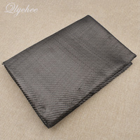 1M Black Color Twill Carbon Fiber Cloth Fabric For Home Table Cloth Women Bag DIY Sewing Cloth Accessories