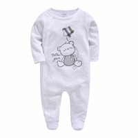 64f83ff1af45c Hot Deals Kavkas Christmas Baby Rompers Costume Bear Embroidery Kids Newborn  Clothes Long Sleeve Spring Newborn Infant Clothing