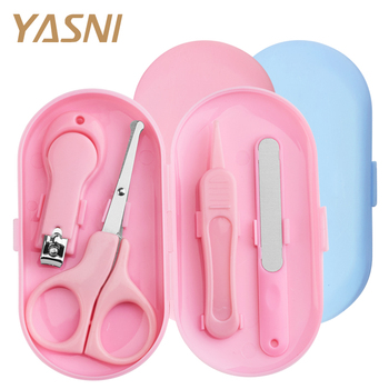 Baby Nail Care Set Child Scissors Practical Baby Nail Clipper Trimmer Convenient Daily Baby Nail Shell Shear Manicure Kit NT148