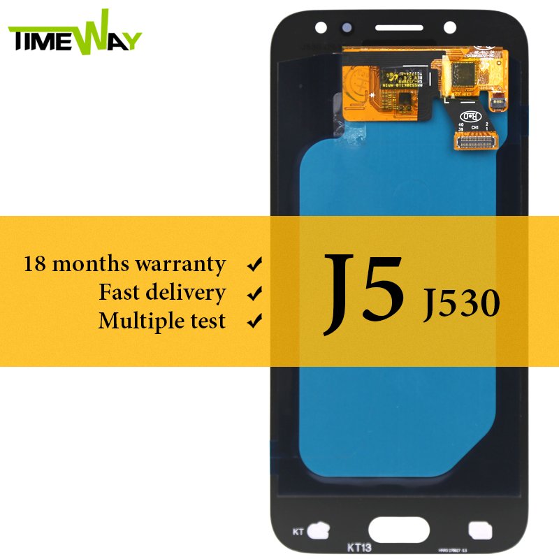 OEM pour Samsung J5 2017 J530 J530F J5 Pro écran LCD AMOLED avec remplacement de l'assemblage de l'écran tactile pour Samsung J530 J530F LCD