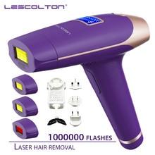 Lescolton 700000 kez IPL Lazer epilatör makinesi Lazer epilasyon ile LCD ekran epilasyon vücut Bikini yüz koltukaltı