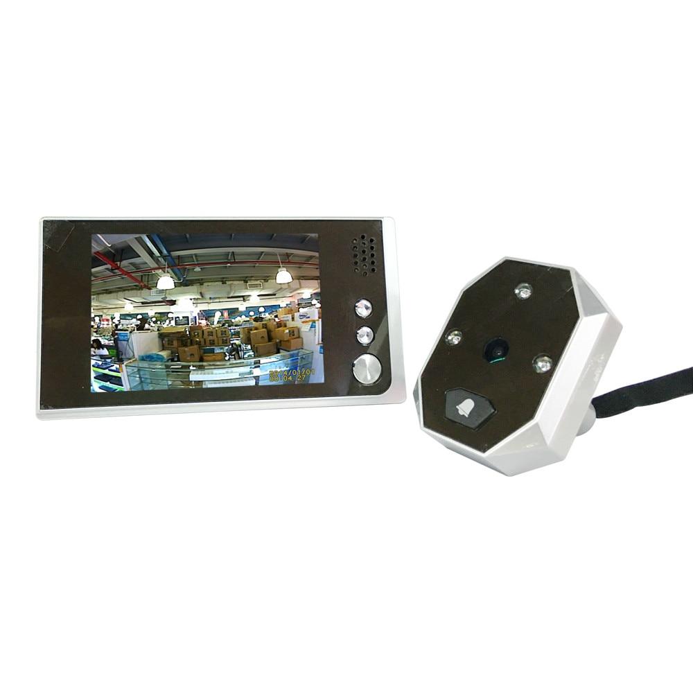 ФОТО 2 Maga-Pixels HD Video Door Phone 3.5 Inch LCD Display Peephole Viewer