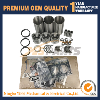 New Overhaul Kit For Kubota D905 STD Overhaul Rebuild kit Piston
