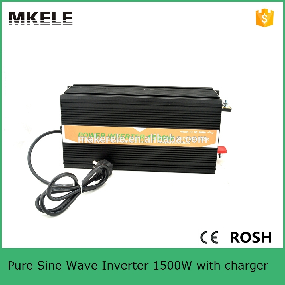 цена на MKP1500-121B-C modified sine wave 1500w 12v 110v pure sine wave 1500w inverter dc to ac power inverter with battery charger