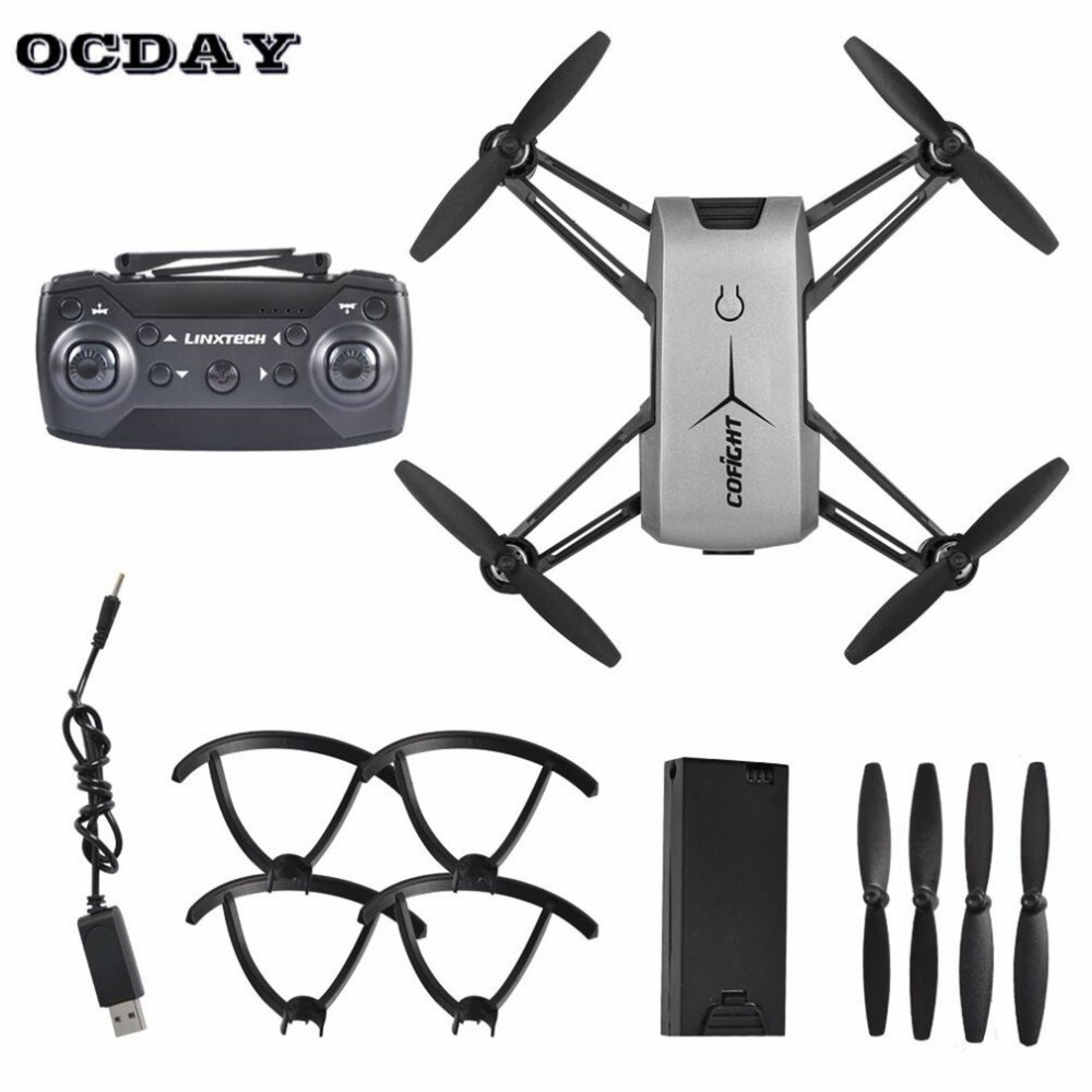 купить IN1802 Stylish Shape RC Drone Toys WiFi Quadcopter Dron Mobile Remote Control 720P HD Camera Headless Mode Helicopter Kids Gift по цене 3036.09 рублей