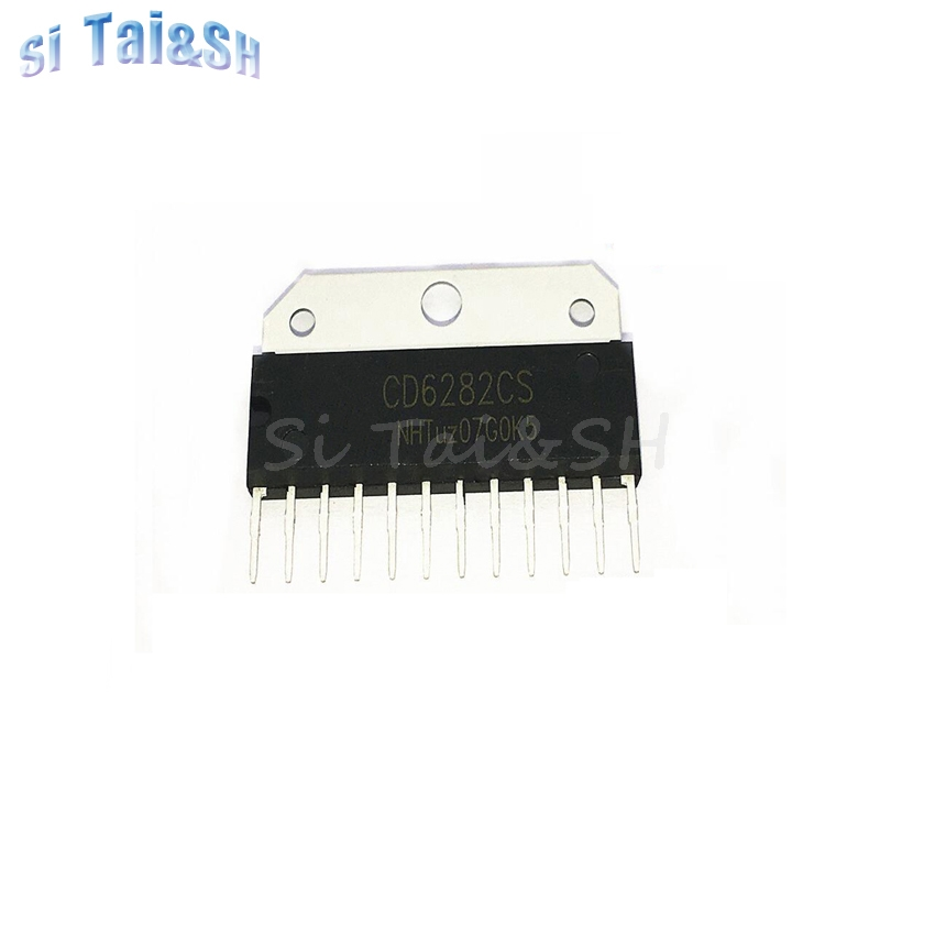 1PCS CD6282  CD6282CS D6282 ZIP-12  Integrated Circuit