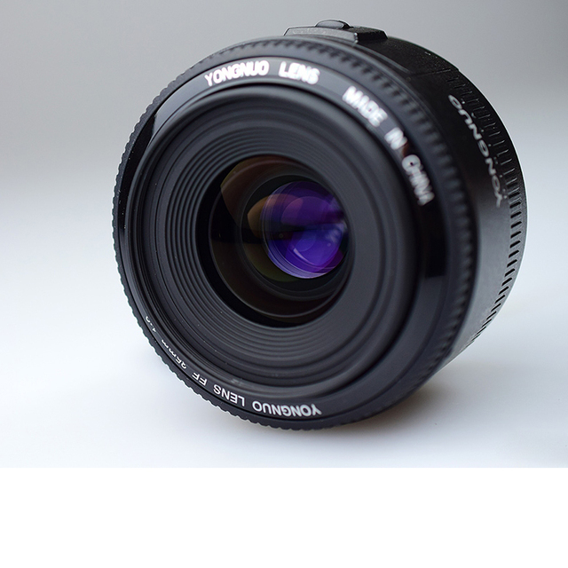 YONGNUO 35mm Lens YN35mm F2 Lens 1:2 AF / MF Wide-Angle Fixed/Prime Auto Focus Lens For Canon EF Mount EOS Camera EOS 5DII 5DIII