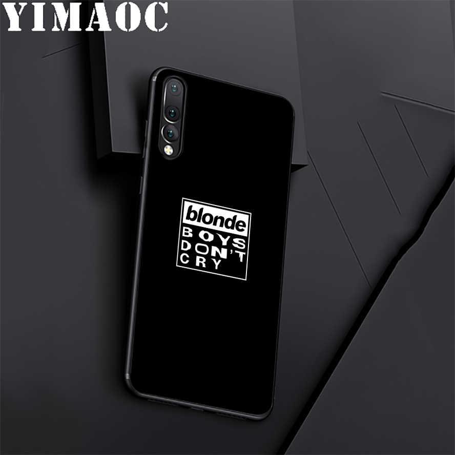 YIMAOC Frank Ocean Blond En Silicone Souple étui pour huawei Honneur Mate 10 P20 P10 P9 P8 P Smart Y6 6A 7A 7X 7C Lite Pro 2017 2018