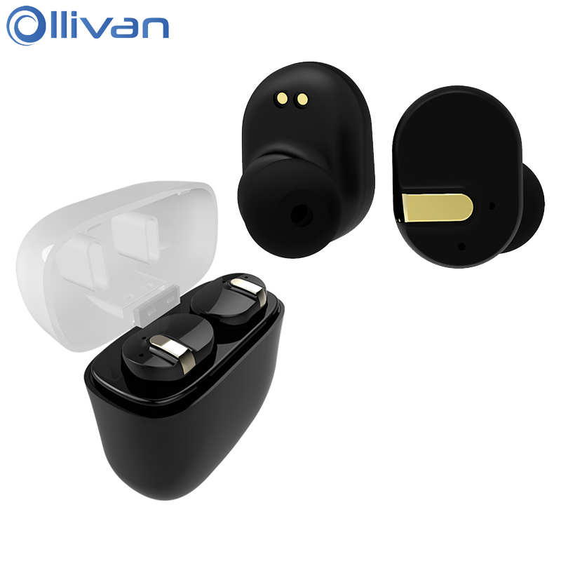 Ollivan TWS I8 Bluetooth Earphone Stereo Earbuds Super Bass Wireless Headset Waterproof TWS-i8 Audifonos With Charging Seat