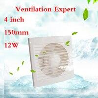Fenster typ bad küche wand glas kleine fan 4 zoll 160*160mm entfernen TVOC HCHO PM2.5