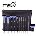 MSQ Nova Chegada 12 Pcs compo a Escova Escova de Cabelo Sintético de Alta Qualidade Profissional Da Beleza Maquiagem Pincel para a sua Beleza