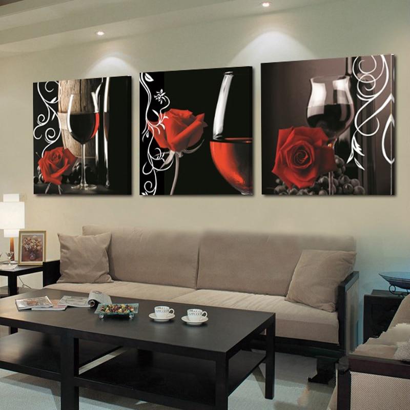 bilder hermosa abstracta al leo del paisaje moderna de la lona wall art for living room