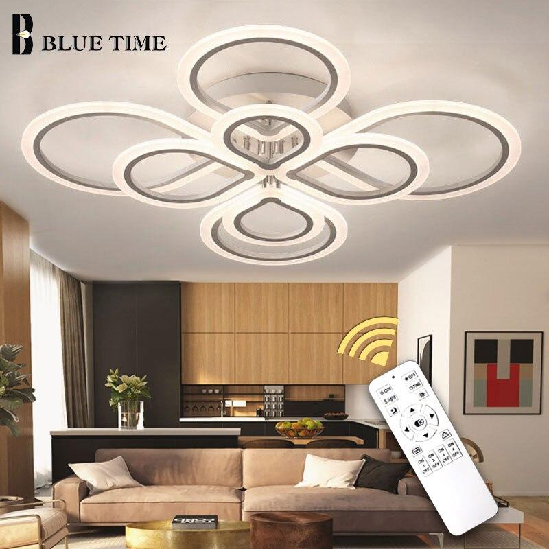 white black modern led lustre para sala de estar quarto luz luminaria iluminacao de teto lustre