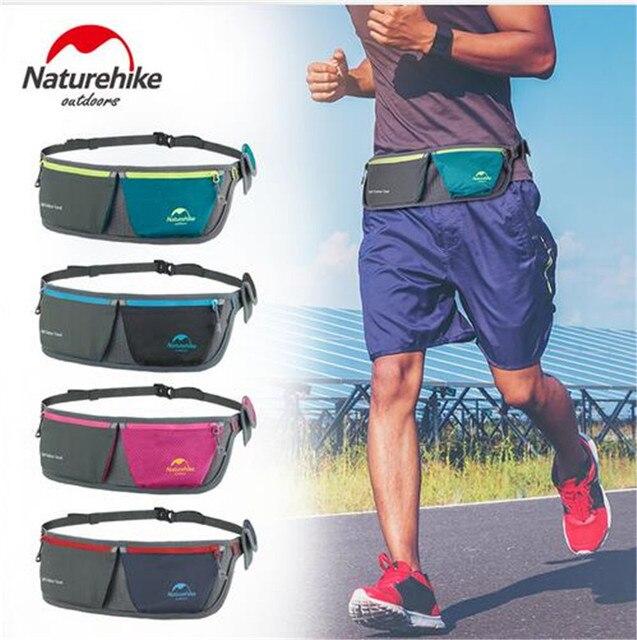 NatureHike Men Women Ultralight Portable Waist Bags Sport Packs Bag Cycling Waterproof Outdoor Storage Bag Running Hiking