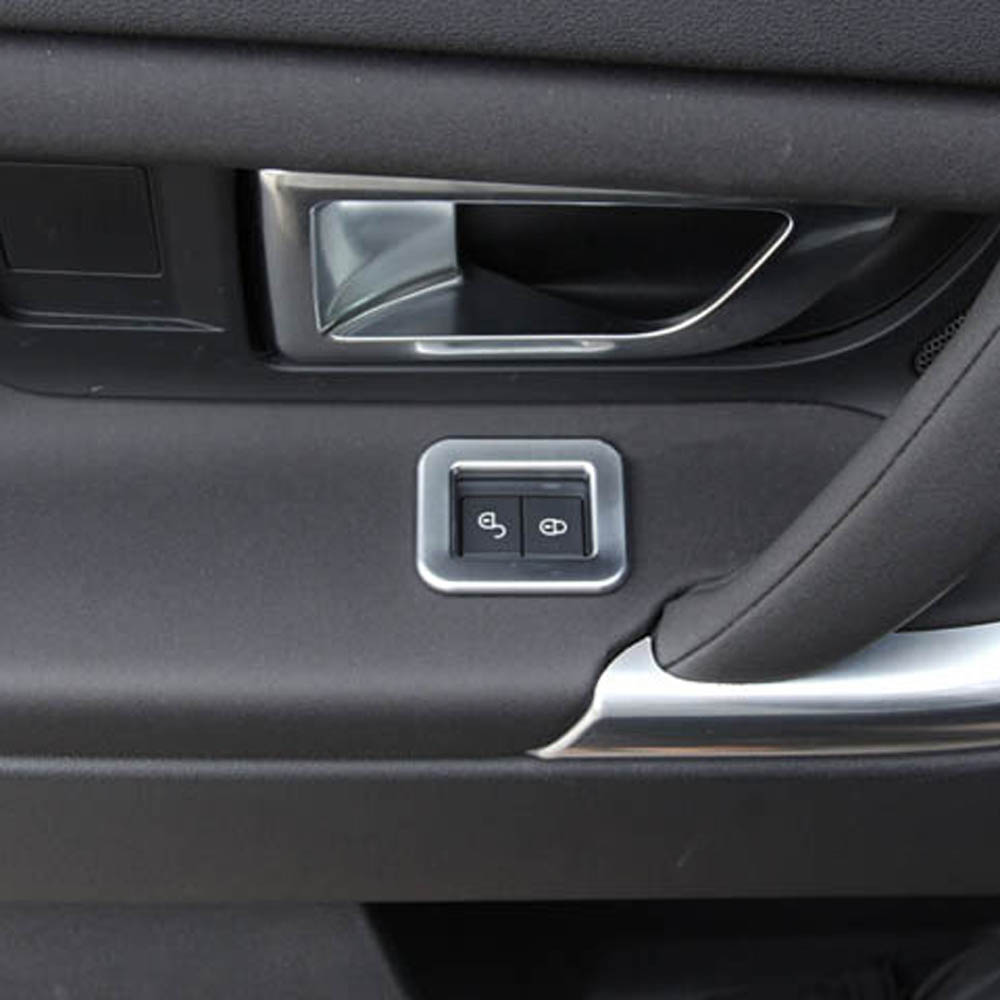Interior accessories for discovery sport front rear door child interior accessories for discovery sport front rear door child safety security lock switch button trim box frame sticker cover in interior mouldings from rubansaba