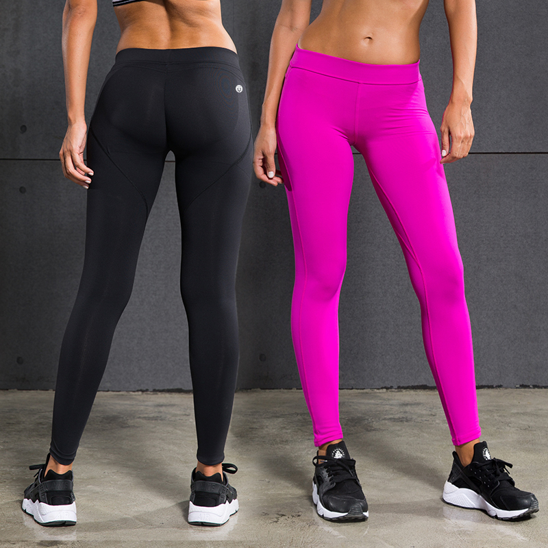 2017 Women Yoga Pants Shaping Sexy Hip High Waist Stretched Sports Pants Gym Running Tights Women Sportin Leggings Fitness Pants