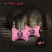 4pcs The car softness head pillow.collapsible styling for AUDI a1 a3 a4L a4 a5 a6 b8 c5 c6 b7 a6L a7 a8L S5 S a8 S8 Q3 Q5 Q7