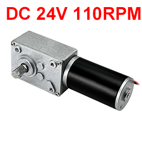 Uxcell Hot Selling 1PCS DC24V 110RPM 14x6mm Shaft High Torque Turbine Carbon Brushes Worm Geared Motor for Electrical AppliancesUxcell Hot Selling 1PCS DC24V 110RPM 14x6mm Shaft High Torque Turbine Carbon Brushes Worm Geared Motor for Electrical Appliances
