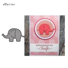 JC Metal Cutting Dies for Scrapbooking Cut Animal Elephant Craft Stencil Handmade Paper Card Making Model Decoration 2019
