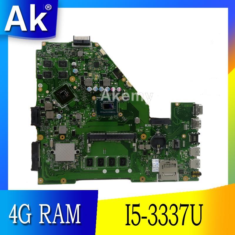 AK X550CC X550VB Laptop moederbord voor ASUS A550C X550CL R510C Test originele moederbord 4G RAM I5 3337U/3317U CPU GT720M-in Moederborden van Computer & Kantoor op AliExpress - 11.11_Dubbel 11Vrijgezellendag 1