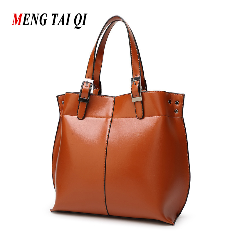 ФОТО Women Bag Handbags Women Messenger Bags Crossbody Shoulder Bag Woman Leather Handbags Casual Vintage Hand Bag Designer Brands 4