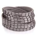 Fashion female Bracelets & bangles Glass Crystal manual multilayer Leather bracelets