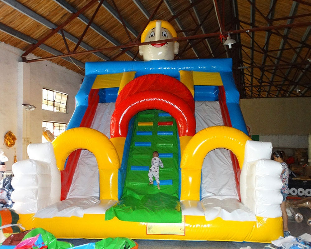 Children amusement park slide inflatable factory direct selling