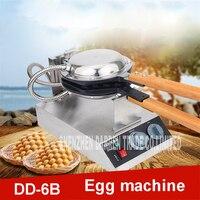 1 UNID DD-6B waffle máquina del fabricante 1400 W burbuja huevo pastel horno 220 V 110 V Temperatura de material de aleación de aluminio placa de la Parrilla 50-300