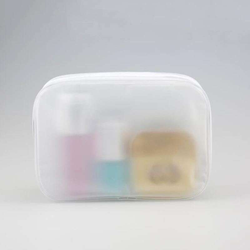 Women Fashion PVC Cosmetic Bag Travel Girl Clear Portable Toiletry Pouch Transparent Waterproof Handbags