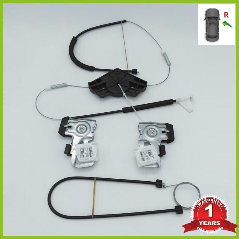 Para Skoda Octavia A4 MK1 1997 1998 1999 2000 2001 2002 2003 2004 2005 2006-2011 Kit de Reparo do Regulador Da Janela Da Frente do Lado Direito