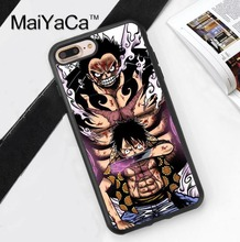 Gear Fourth Monkey D. Luffy One Piece TPU Case for iPhone 6 6S 6 Plus 6sPlus New For iPhone7 7Plus Cover Soft Rubber Phone Cases