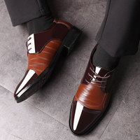 Luxury Business Oxford Leather Shoes Men Breathable Rubber Formal Dress Shoes Male Office Wedding Flats Footwear Mocassin Homme 1