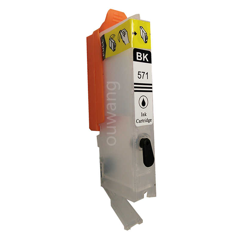 1 セット詰め替えインクカートリッジキヤノン PGI-570 CLI571 PGI570 CLI-571 PGI-570XL CLI-571XL キヤノン製 Pixus MG5750 MG5751 MG5752