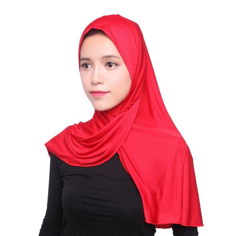 As Mulheres muçulmanas Hijab Sob Cap Chapéu Cachecol Gorro Ninja ... bd8ae870445