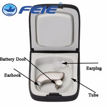 FEIE AUDITORY hearing loss  4 channel  MY -16 most powerful mini hearing aid behind the ear free shipping