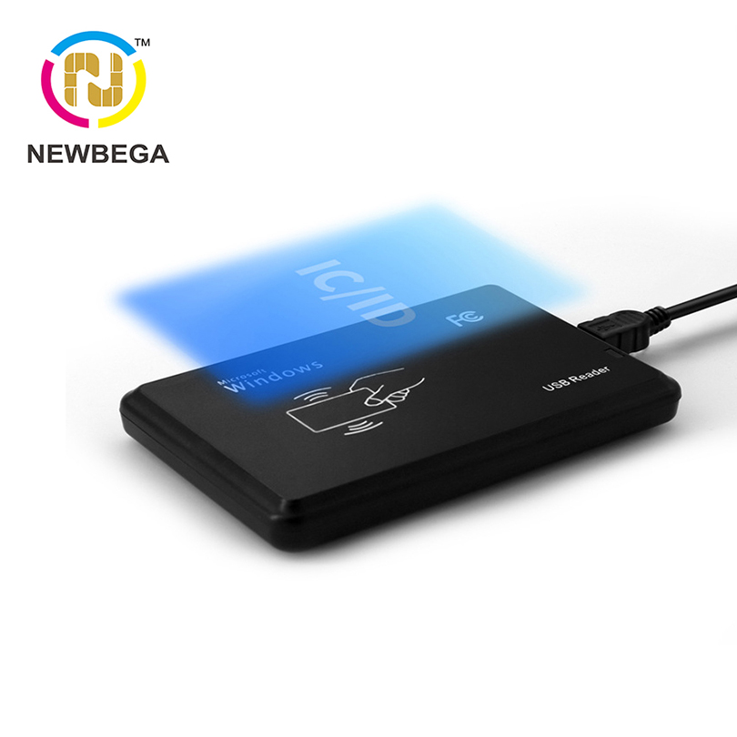 RFID IC And ID Card Reader VIP Suitable For S50 S70 NFC TK4100 EM4200 Chip Member Management USB Interface Windows Tags