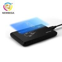 RFID IC dan ID Card Reader VIP Cocok untuk S50 S70 NFC TK4100 EM4200 Chip Anggota Manajemen Antarmuka USB Windows kategori