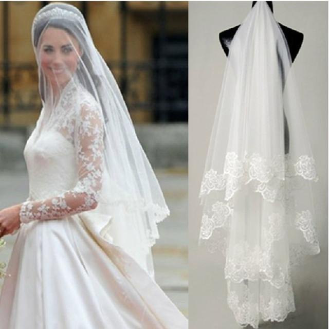 veil Vintage wedding