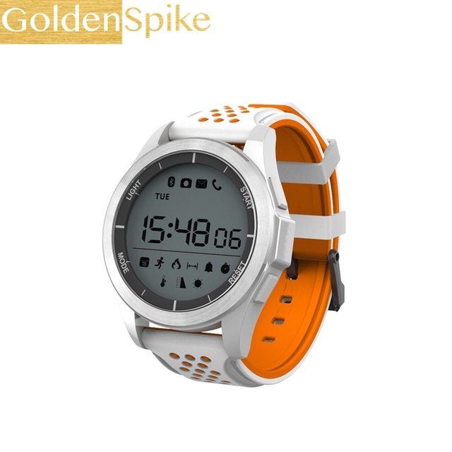 F3 Smart Watch 3atm Waterproof Rating Ip68 Waterproof Al Ude Meter Thermometer Pedometer Smar Ch For Ios Android