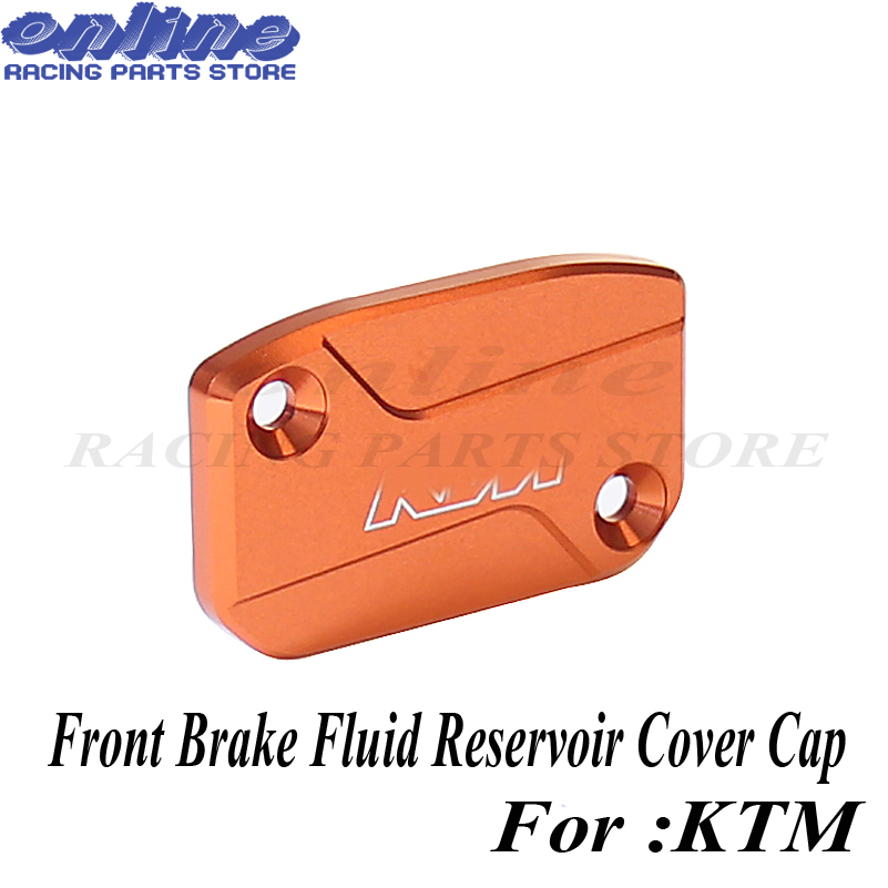 Front Rear Brake Clutch Fluid Reservoir Master Cylinder Cover For Ktm 250 350 450 530 Sx Sxf Xcf Xcw Exc Excf Six Days D-Simpleapparel Front Brake Cover