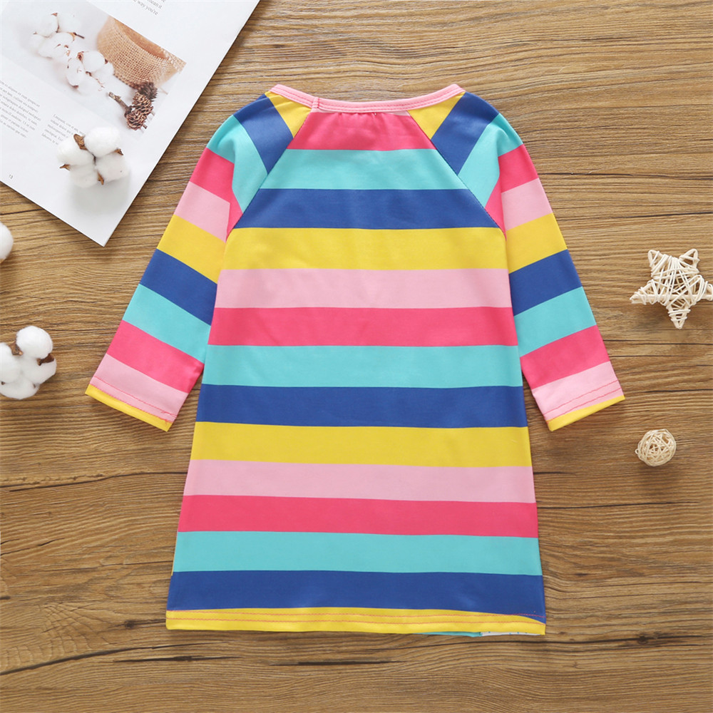 HTB12mgCacfrK1Rjy1Xdq6yemFXae 1-7 Years Kids Girl Dress Toddler Baby Long Sleeve Dresses Summer Children Clothing Girls Cotton Princess Dress Kid Tops Outfits